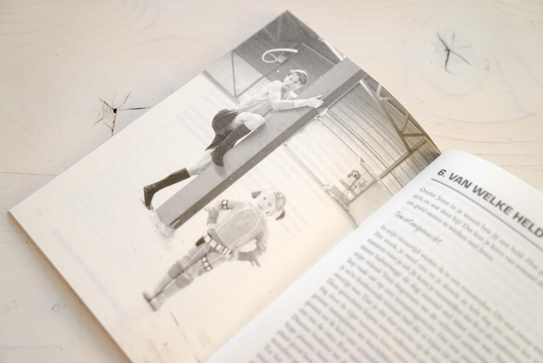 Hoofdstuk 6 uit het boek Held op Sokken van C-generations ontworpen door NOBLY Authentieke Communicatie & Creatie