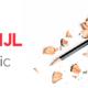 een geslepen potlood met afgeschaafde stukken ernaast. Links staat de tekst: goede huisstijl Infographic