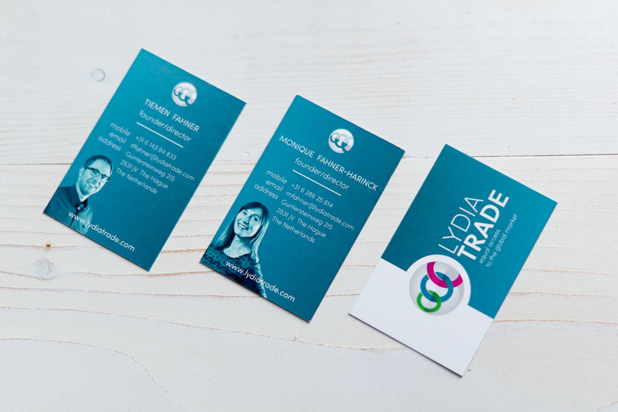 Business cards van Lydia Trade
