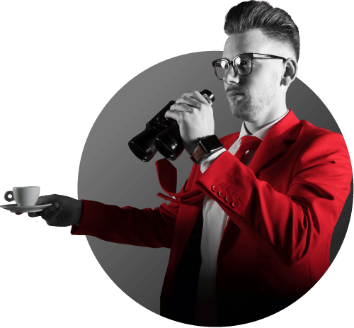 NOBLY Bart Moree van NOBLY praat met koffie in hand en verrekijker